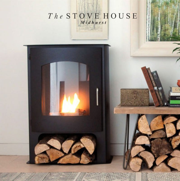 Pembrey Bioethanol Stove Large  / No Flue Required - The Stove House