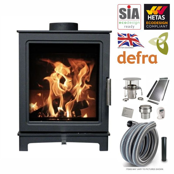 LIMITED OFFER Skiddaw 5kW Eco Design Ready 2022 Defra & Hetas Approved Stove & Liner Package from The Stove House in Midhurst, your local stove fitter & shop situated between Chichester & Haslemere. Covering West Sussex, Hampshire & Surrey for over 30 yrs For a survey, installation quote & fire prices call 01730 810931