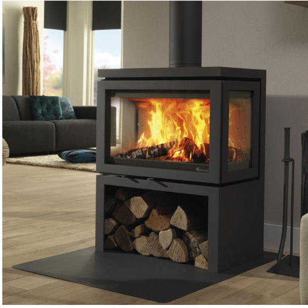 Dik Geurts Vidar Triple Stove - The Stove House Midhurst Nr Chichester West Sussex