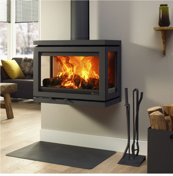Dik Geurts Vidar Wall Stove - The Stove House Midhurst Nr Chichester West Sussex