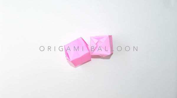 Kids Origami Tutorial - Balloon