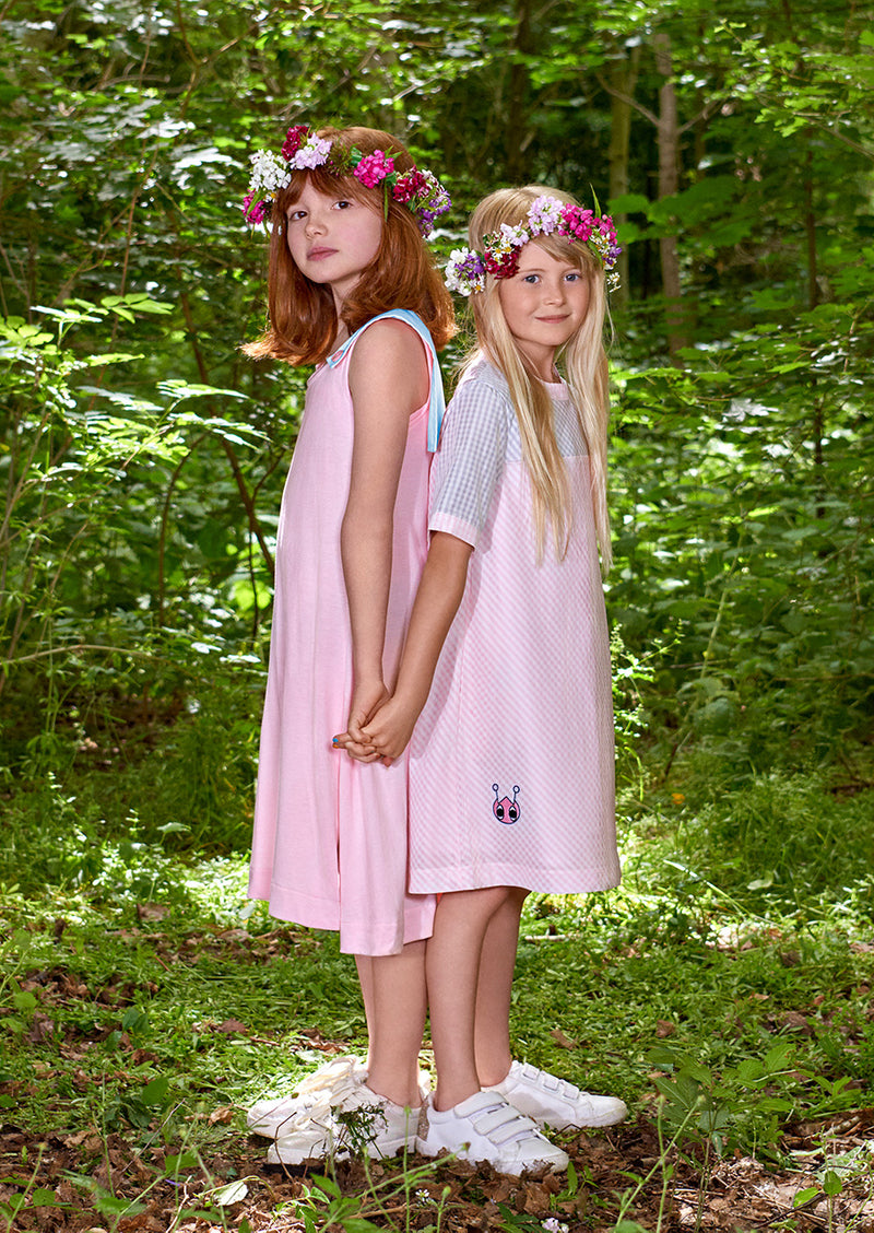 Owa Yurika Omaira & Saida Girls Spring Summer Pink Dress