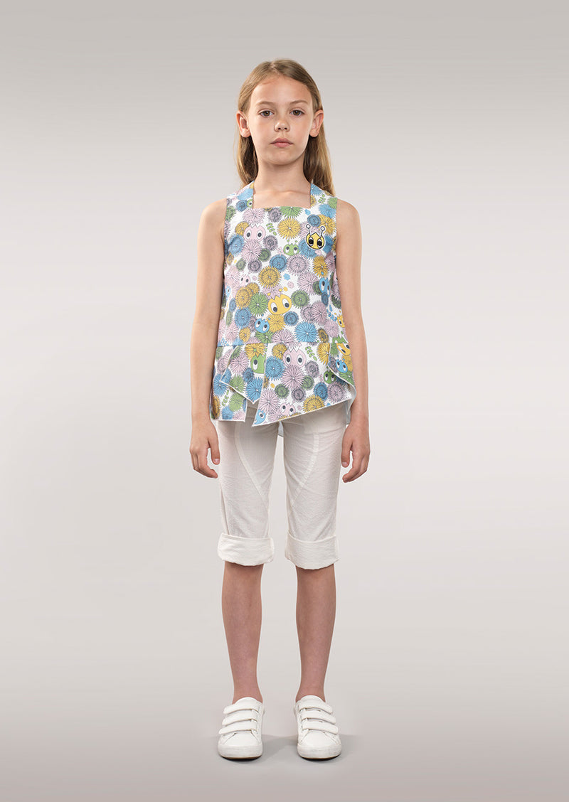 Owa Yurika Mini Girls Spring Summer Sleeveless Top