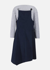 Owa Yurika Penelope Girls Navy Dress