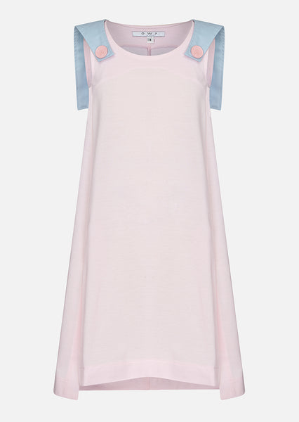 Owa Yurika Omaira Girls Spring Summer Pink Dress