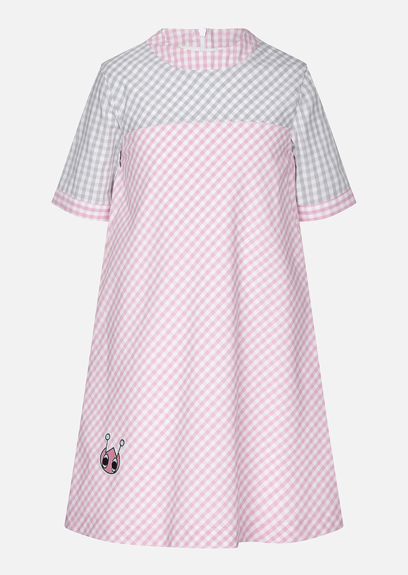 Owa Yurika Saida Girls Spring Summer Dress Pink