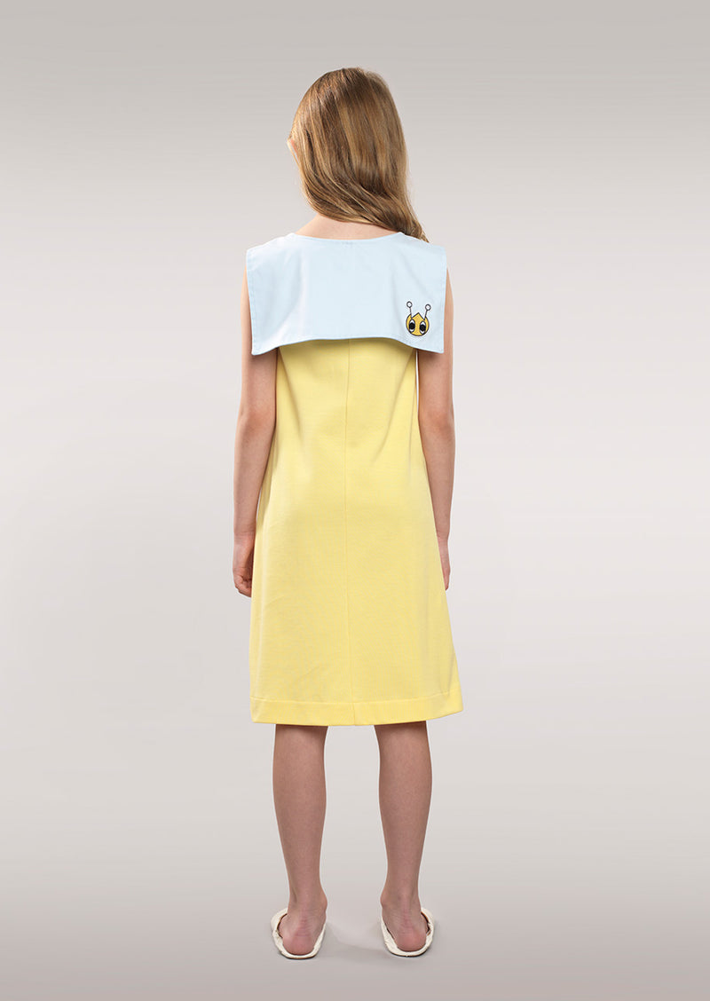 Owa Yurika Omaira Girls Spring Summer Yellow Dress