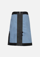 Owa Yurika Girls Denim Skirt Blue