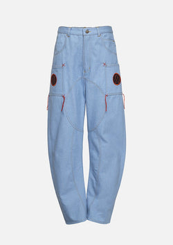 Owa Yurika Noora Girl Unisex Cotton Denim Trouser