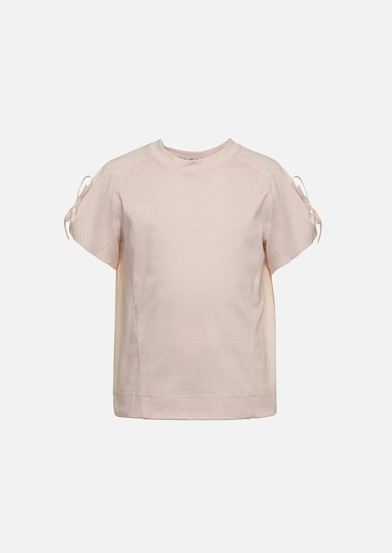 Owa Yurika Girls Children Yousra Cotton T-shirt Pink