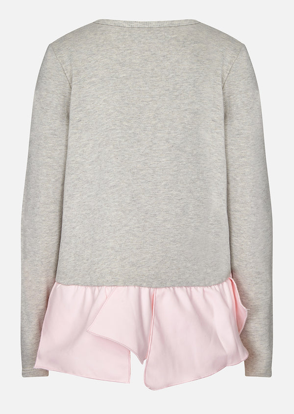 Owa Yurika Alix Girls Sweatshirt Grey