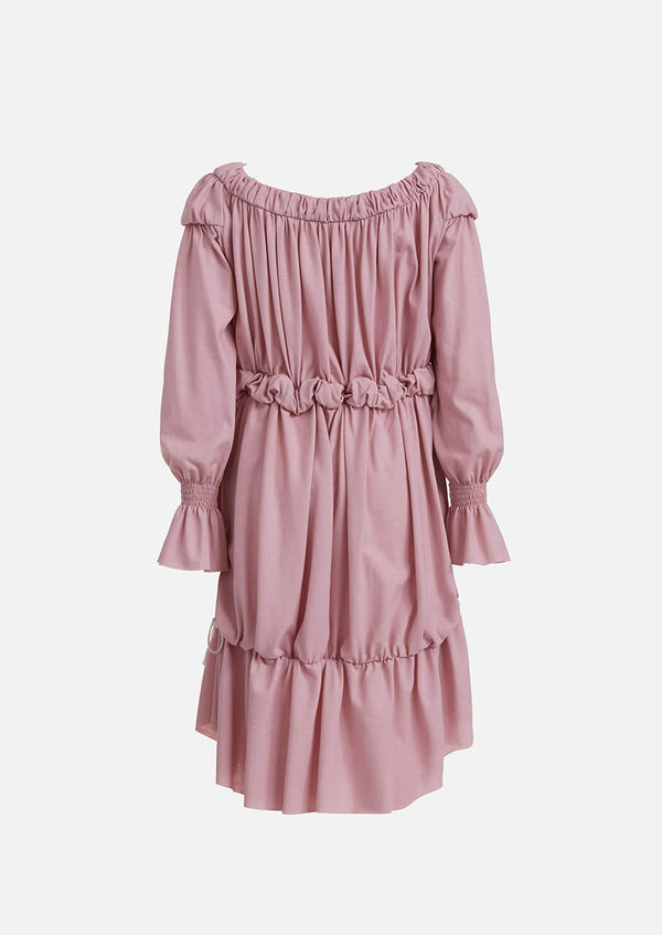Owa Yurika Chloe pink cotton dress Japanese made
