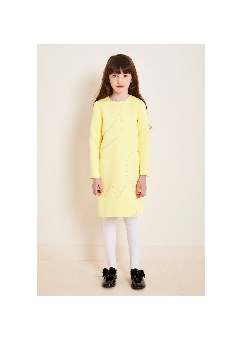 Owa Yurika Charlotte Lemon Dress