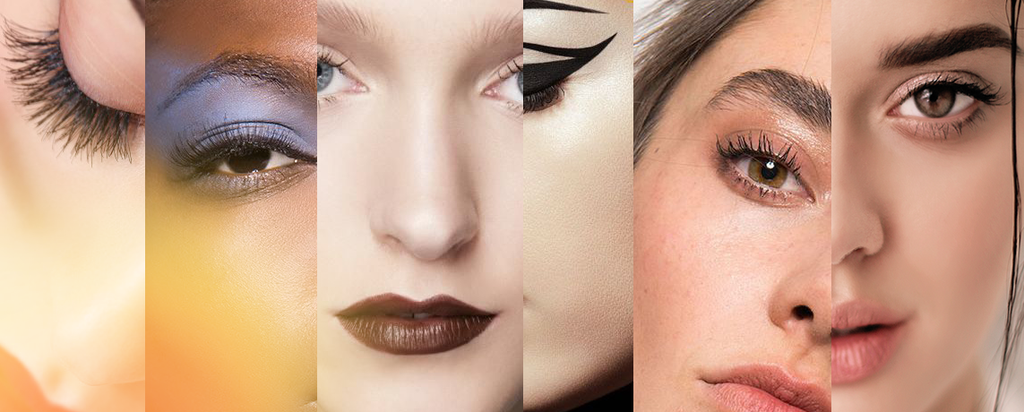 2k19 or 2k90's? The 90's are back and here are 6 make-up trends for this year.
