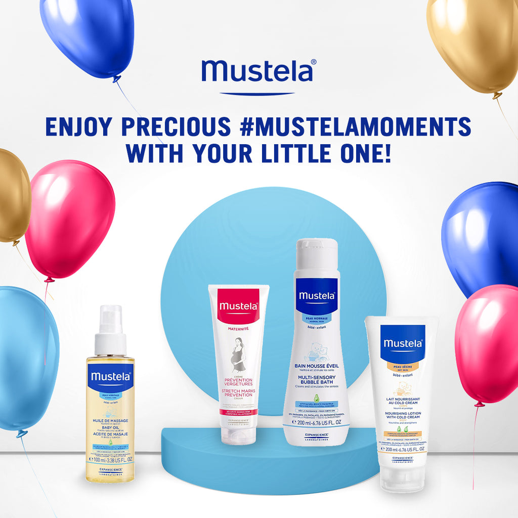 Mustela - 7 Days of Positivity
