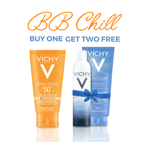 Vichy Ideal Soleil BB Tinted Dry Touch Summer Offer