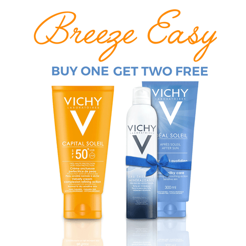 Vichy Ideal Soleil  Velvety Cream Summer Offer