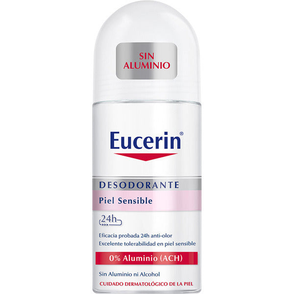 Eucerin 24h Aluminium-Free Sensitive Skin Roll-On Deodorant