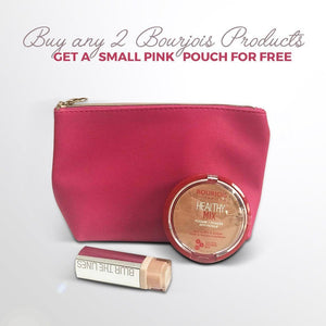 Bourjois Small Pink Pouch - Gift with 2 Products - NOT FOR SALE