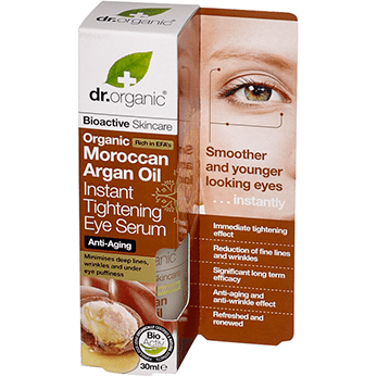Dr. Organic Moroccan Argan Oil Instant Tightening Eye Serum