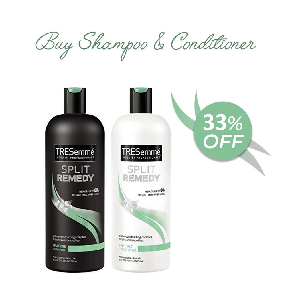 TRESemme Split Remedy - BUY Shampoo GET FREE Conditioner