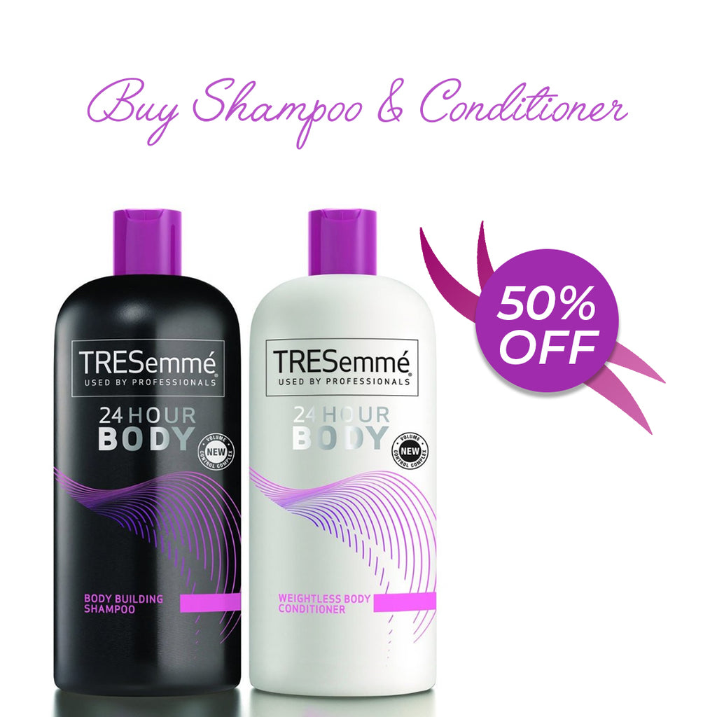 TRESemme 24 Hour Body  - BUY Shampoo GET FREE Conditioner