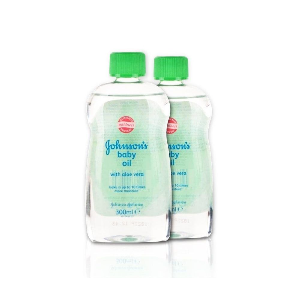 Johnson's Baby Oil Aloe Vera - Buy 2 Get 20% Off