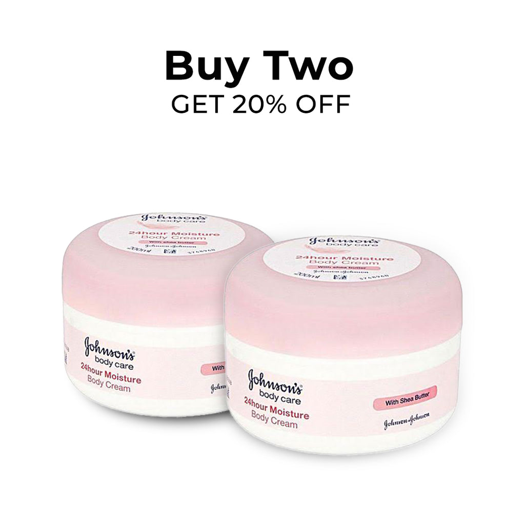 Johnson's 24H Moisture Soft Cream - Buy 2 Get 20% Off