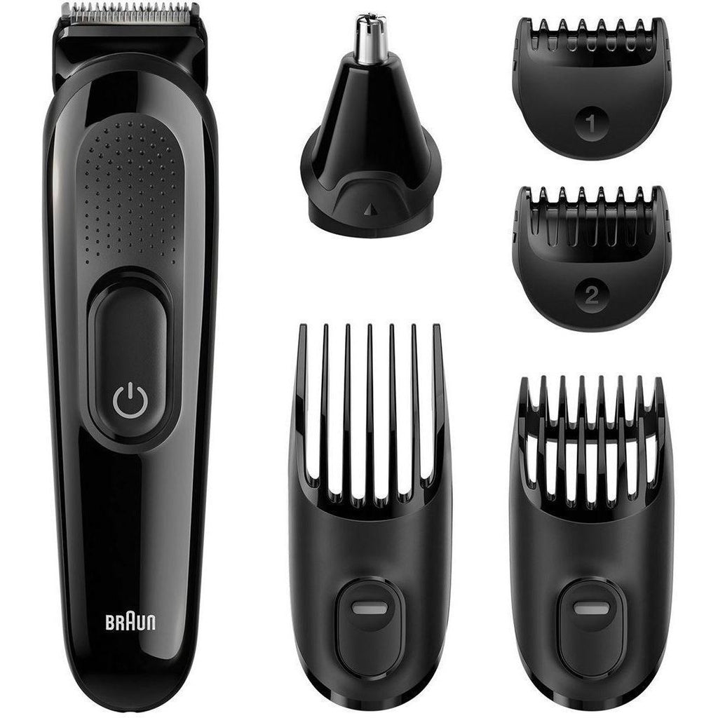 Braun Multi Grooming Kit MGK3020 – 6-in-One Face & Head Trimming Kit