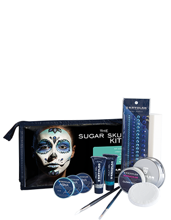 Kryolan The Sugar Skull Halloween Kit Art. 03007/00