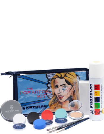 Kryolan The Pop Art Gal Halloween Kit Art. 03009/01