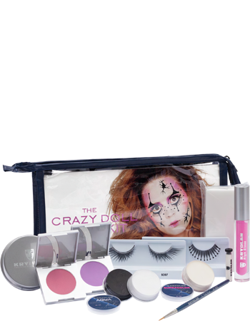 Kryolan The Crazy Doll Halloween Kit Art. 03009/03
