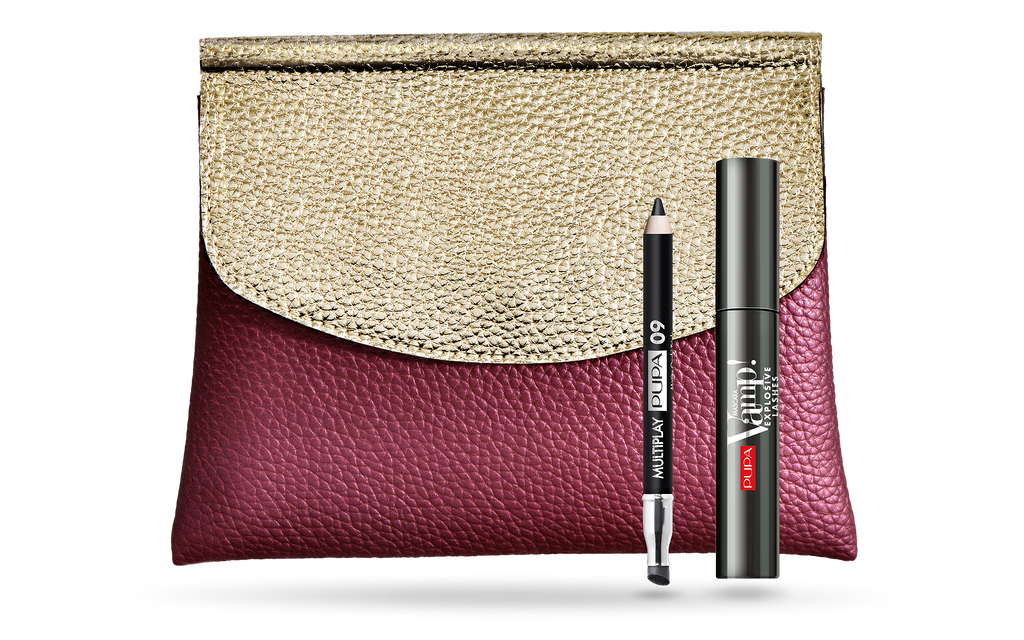 Pupa Milano Makeup Kit: Vamp! Explosive Lashes Mascara & Multiplay Eyeliner