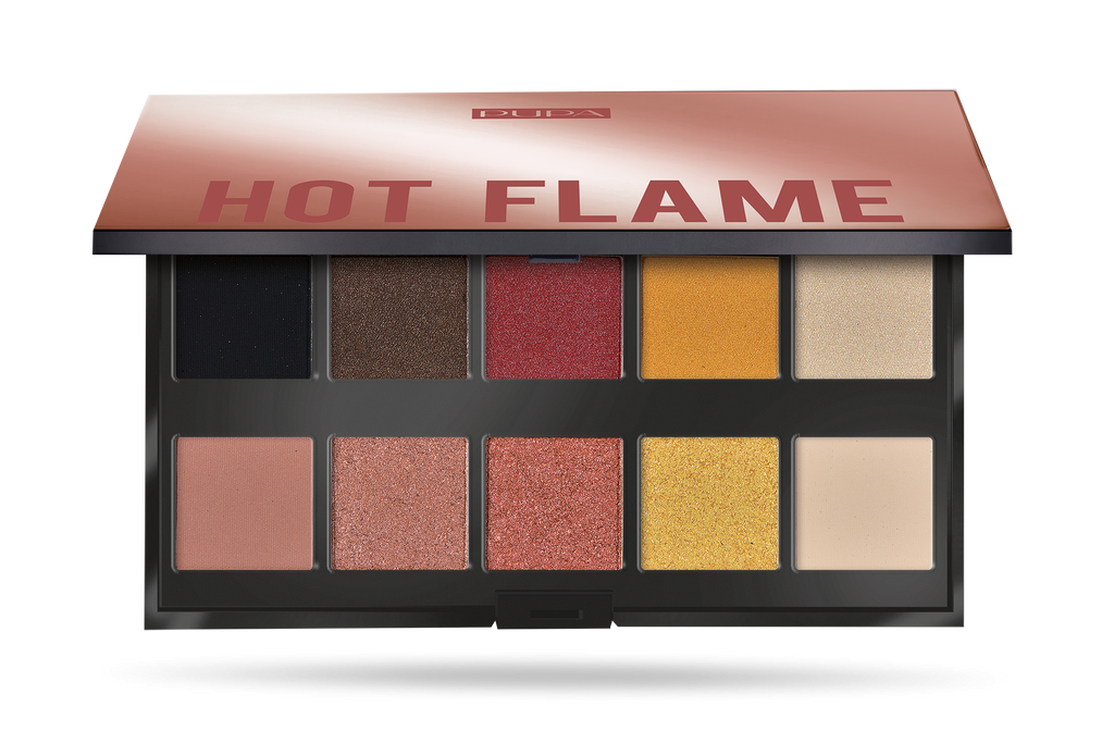 Pupa Makeup Stories - Hot Flame Eyeshadow Palette