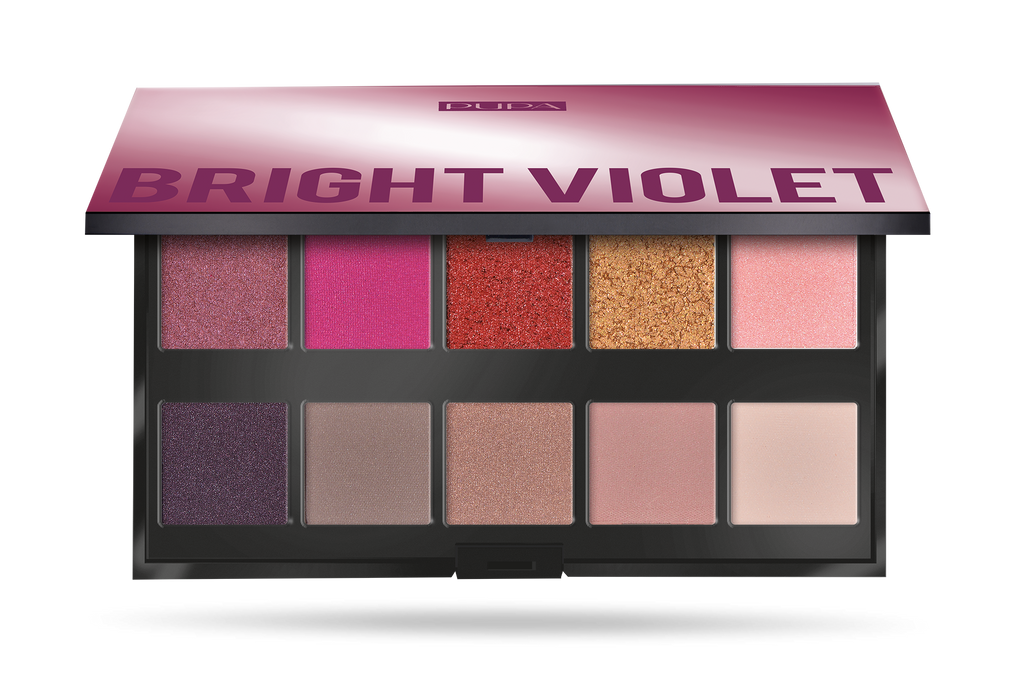 Pupa Makeup Stories - Bright Violet Eyeshadow Palette