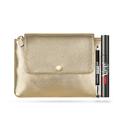 Pupa Milano Holiday 2019 Sets: Clutch Bag + Vamp! Mascara + Multiplay Eye Pencil