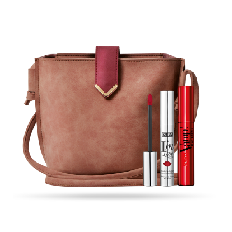 Pupa Holiday Bundle: Sexy Lashes + I'm Loveproof + Free Clutch