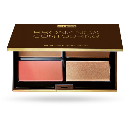 Pupa Bonzing & Contouring Palette - All in One