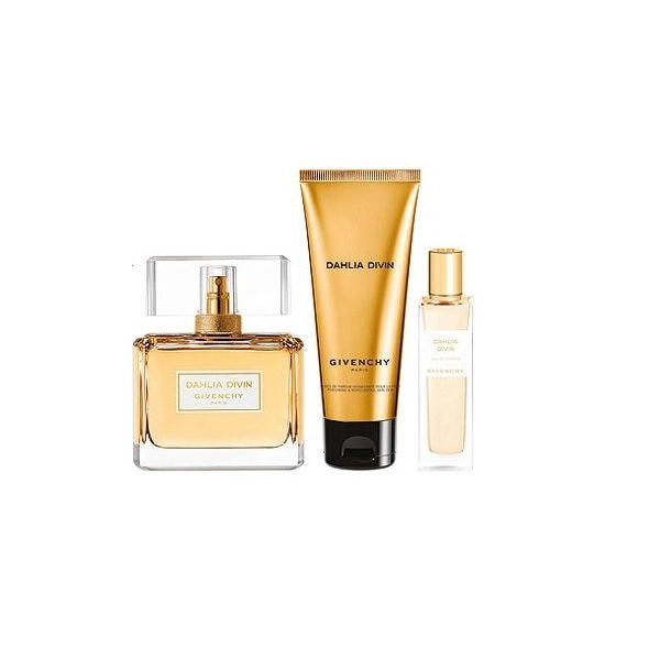 Givenchy Dahlia Divin Eau De Parfum 75ml Gift Set For Women
