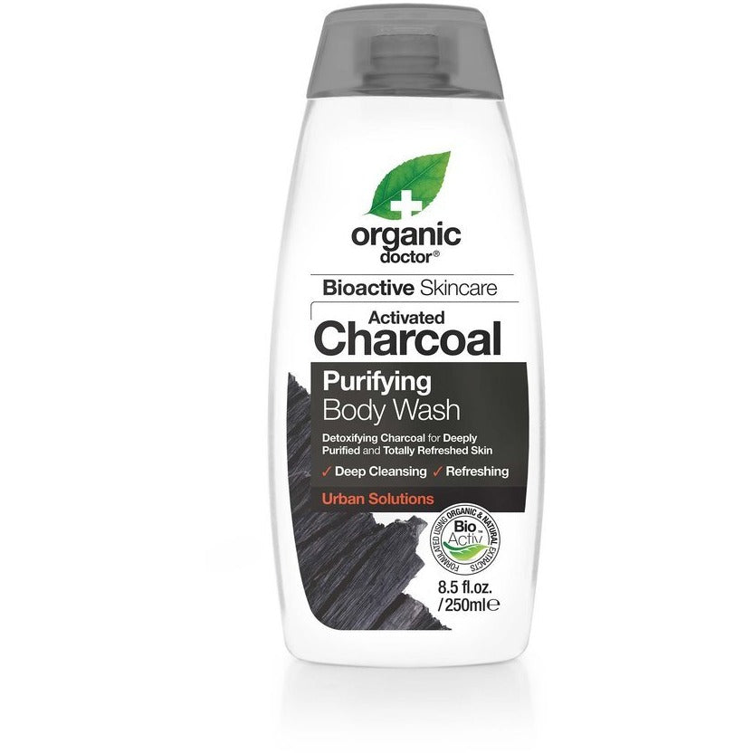 Dr. Organic Charcoal Purifying Body Wash