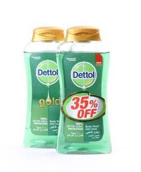 Dettol Anti-Bacterial Shower Gel - Buy 2 at 35% Off