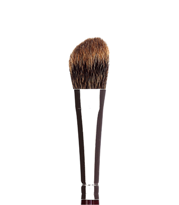 Kryolan LBC Make up Brush - Classic  #12 Luxe Wedge Contour