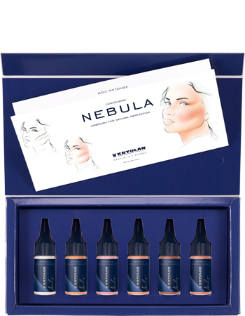 Kryolan NEBULA Contour 6 Color Set
