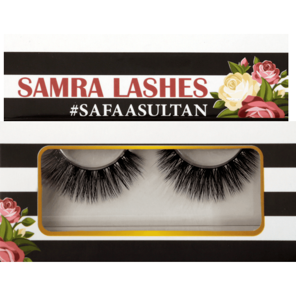 Samra Lashes One Pair SafaaSultan