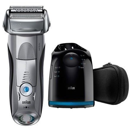 Braun Series 7 7899cc Men's Electric Foil Shaver  + FREE Silver Elite Squad!