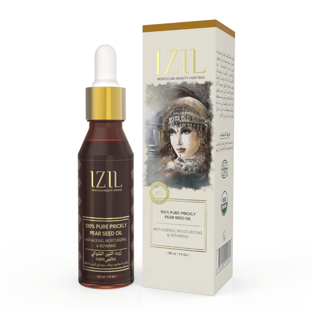 Izil 100% Pure Prickly Pear Seed Oil - Anti-Ageing & Repairing