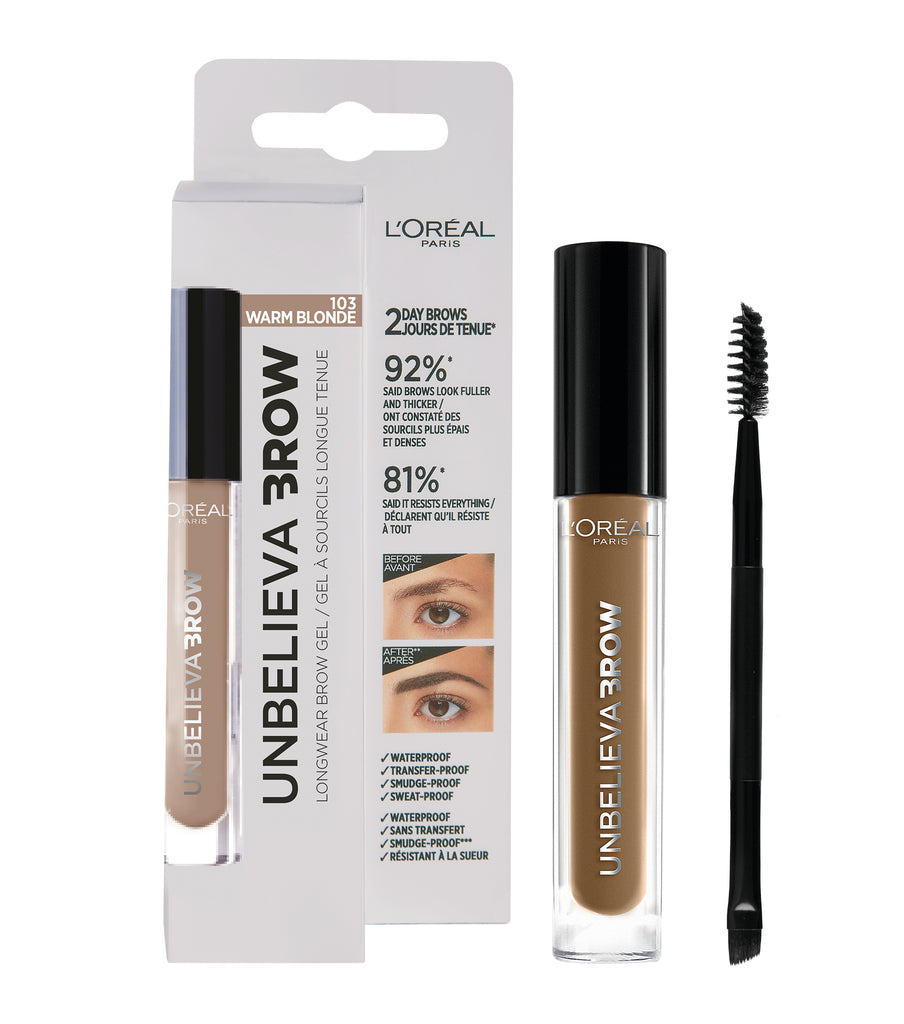 L'Oréal Paris Unbelieva-Brow Long Lasting Eyebrow Gel