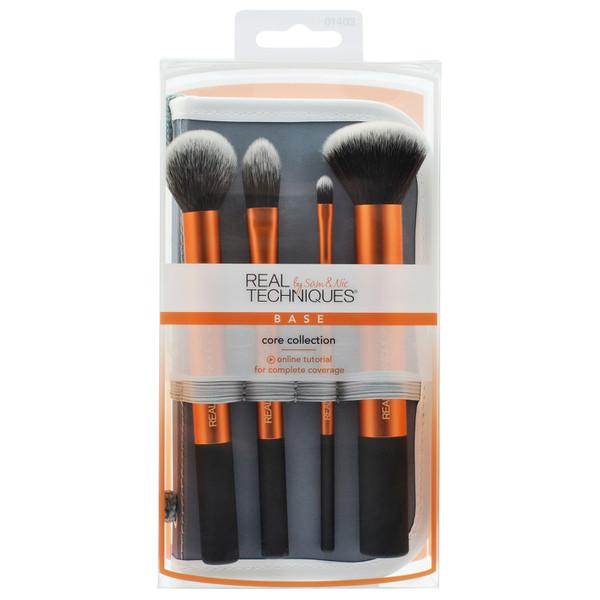 Real Techniques Core Collection Set - Face Makeup Brushes