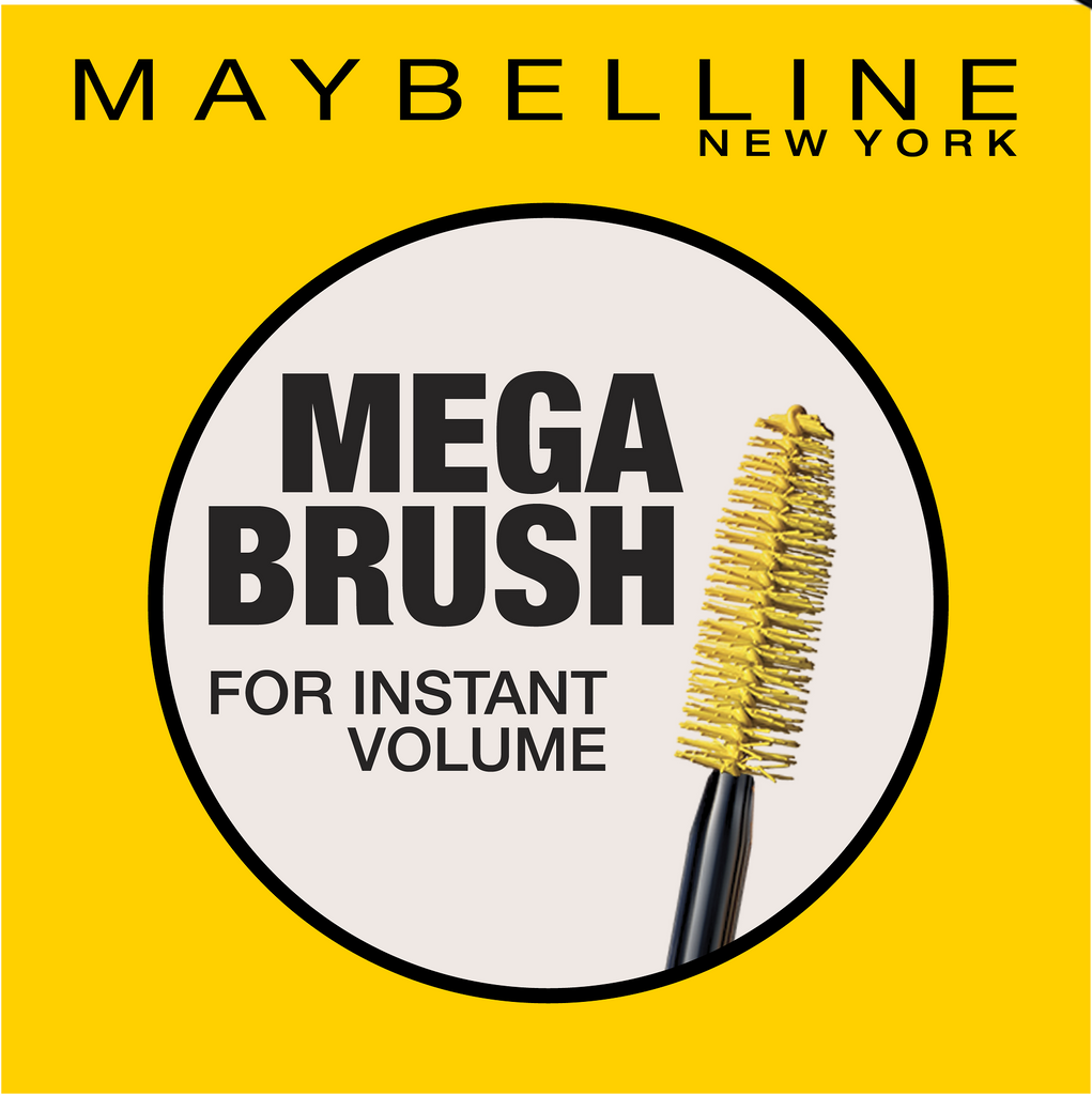Maybelline Colossal  Volum' Express 100% Black Mascara - 10 Year Anniversary!