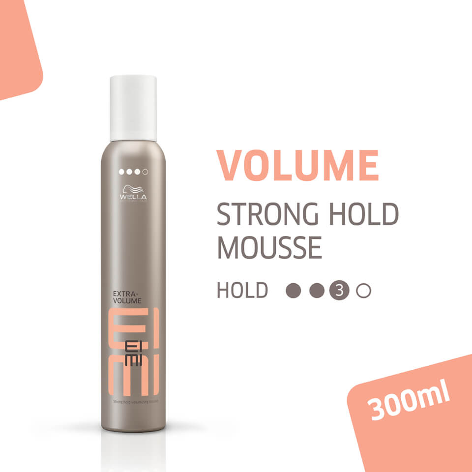 Wella Professionals Eimi Extra Volume Strong Hold Volumizing Hair Mousse